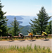 San Juan Islands biking photo